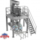 AUTOMATED CANNABIS AND MARIJUANA DUAL-BAGGING PRE-MADE POUCH PACKAGING SYSTEM